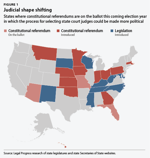 The Conservative Takeover Of State Judiciaries Center For American