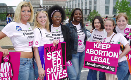 March for Women's Lives: Penn State Femenists