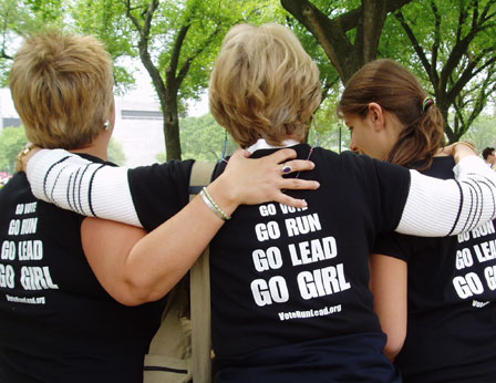March for Women's Lives: Three Generations